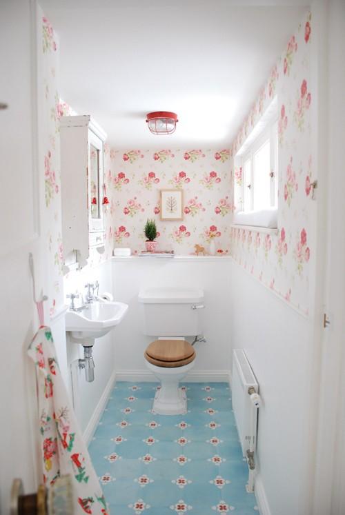 Tutti i segreti per realizzare un bagno shabby chic - Costo rifacimento bagno piccolo ...