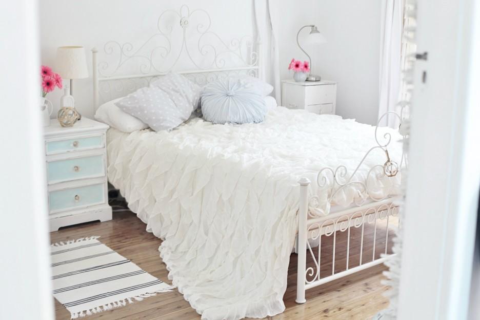 Tutti i segreti per una camera da letto in stile shabby - Camera da letto stile industriale ...