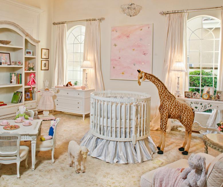 Dolci idee per le camerette dei bambini in shabby chic
