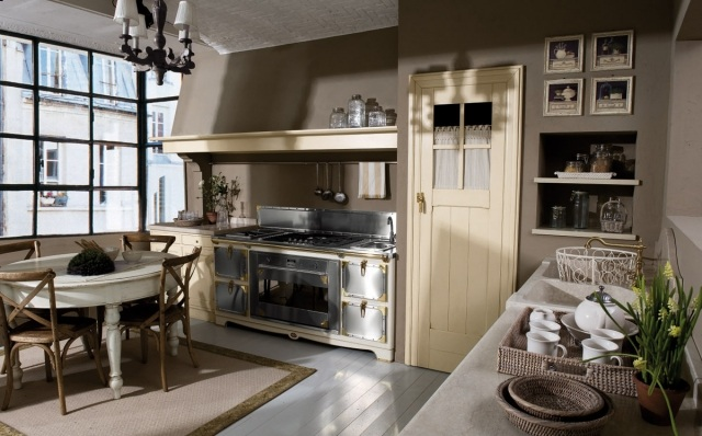 Pareti In Legno Shabby : Come arredare una cucina shabby riutilizzando vecchi oggetti