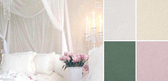 Dipingere le pareti di casa in perfetto shabby le linee guida - Colori pareti cucina shabby chic ...