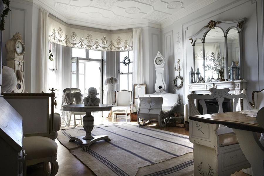 Ufficio Stile Inglese : Idee per un perfetto ufficio shabby foto