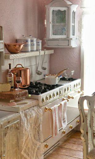 Oggetti da cucina shabby chic: 15 cose che non ti devono mancare