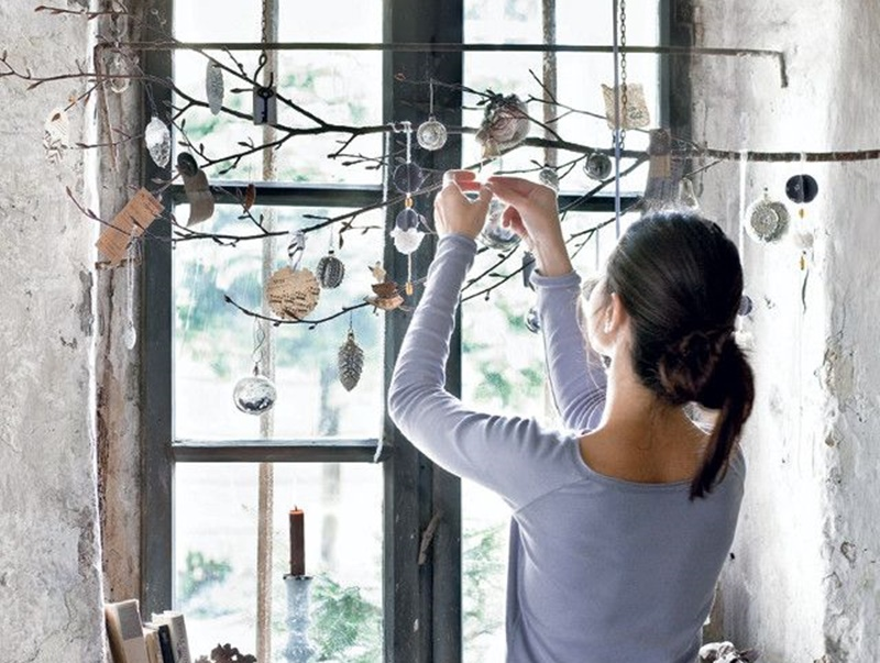 Decorazione Finestre Per Natale : Idee per decorare le finestre in stile shabby a natale