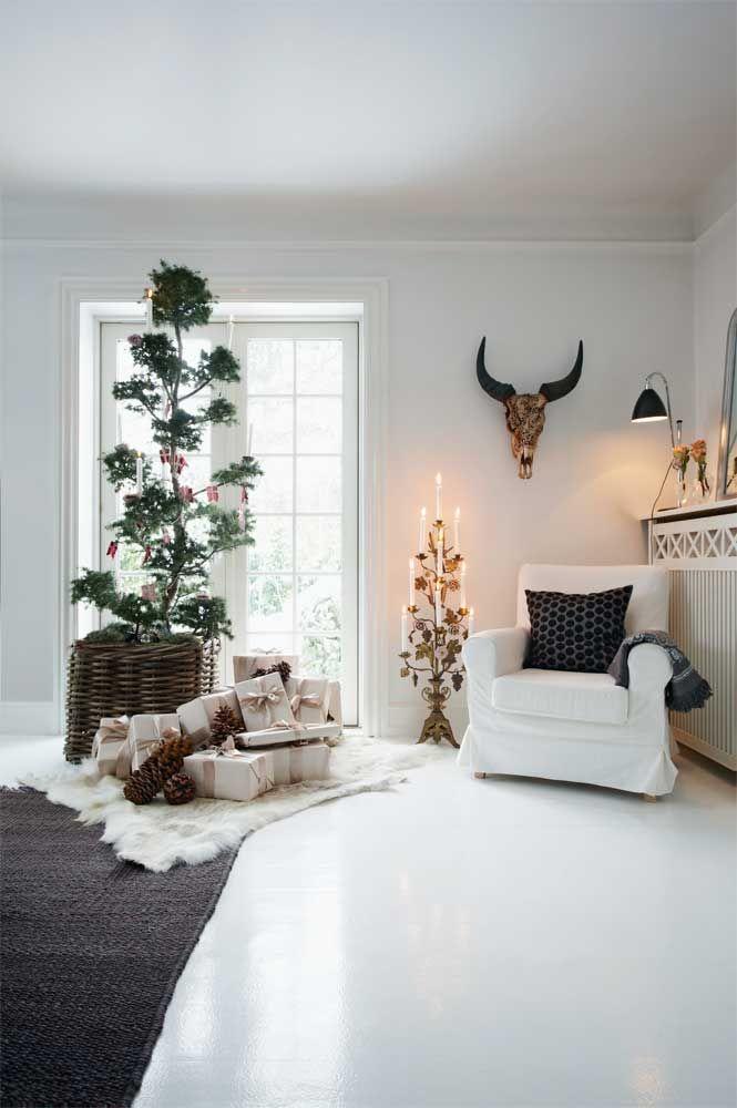 Perfect luintento quello di mostrarvi gli interni delle case scandinave arredate per natale - Case arredate moderne ...