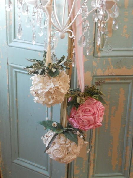 Decorare la casa con i fiori in stile shabby per natale - Natale country decorazioni ...