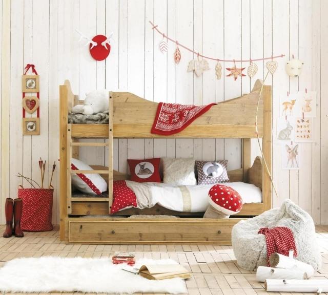 Camerette romantiche per bambine idee facili da imitare - Camerette stile country chic ...