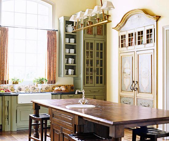Beautiful cucine antiche francesi contemporary - Cucine provenzali francesi ...