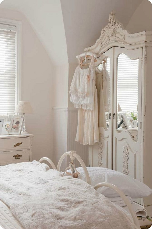Matrimonio Shabby Chic Total White : Armadio shabby chic total white arredamento