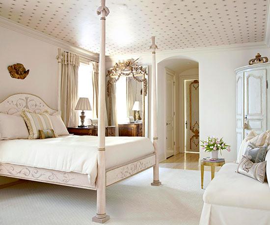 Camera da letto in country francese accogliente - Camera da letto in francese ...