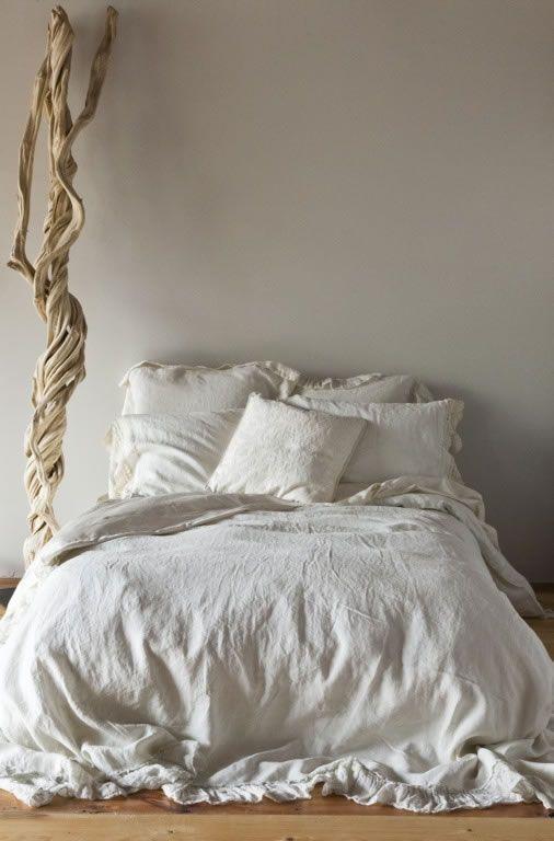 Camera da letto shabby chic ma minimal arredamento shabby - Camera da letto boho chic ...