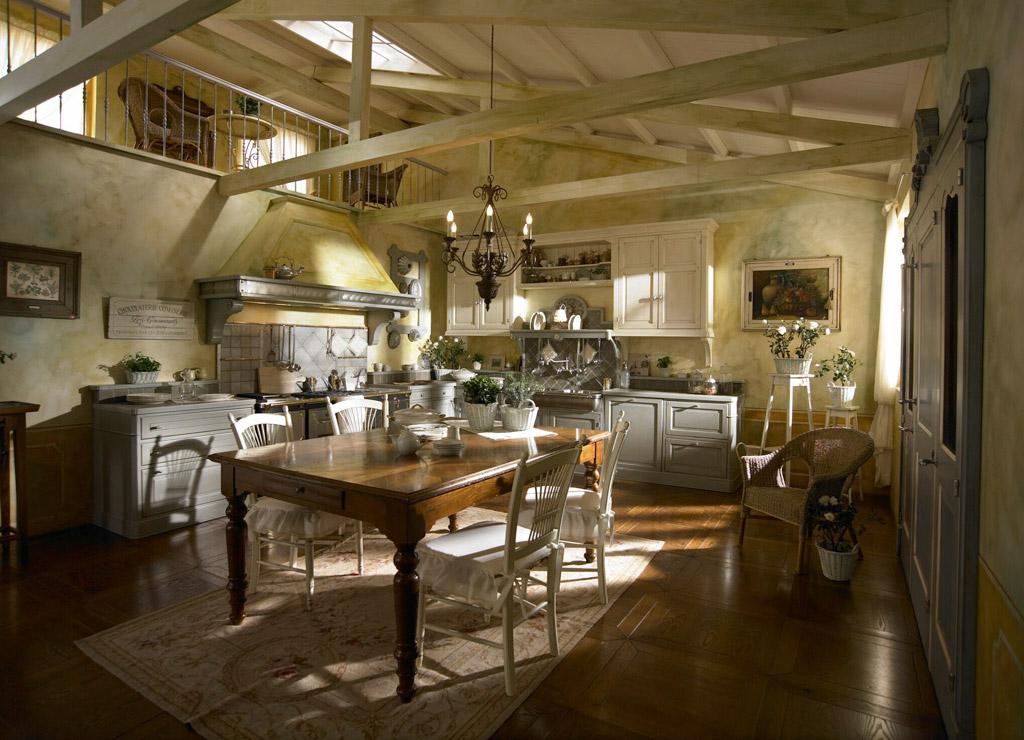 Cucine rustiche in stile shabby chic 30 modelli da sogno foto - Cucine stile country chic ...