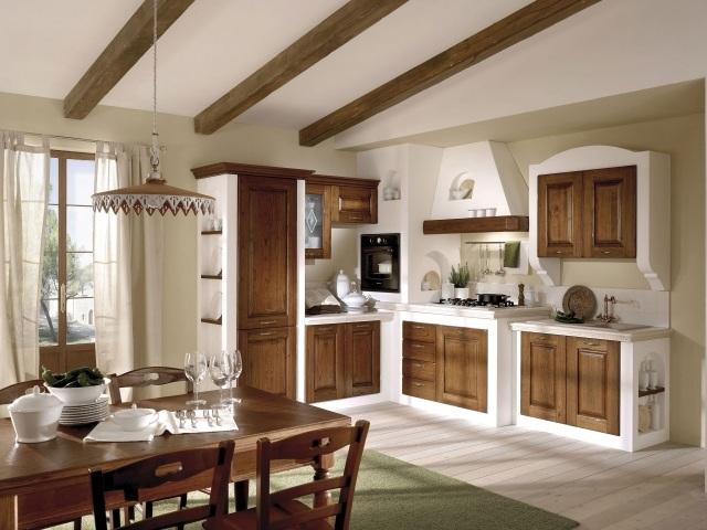 25 idee per arredare la cucina di campagna con il country chic for Arredamento rustico ikea