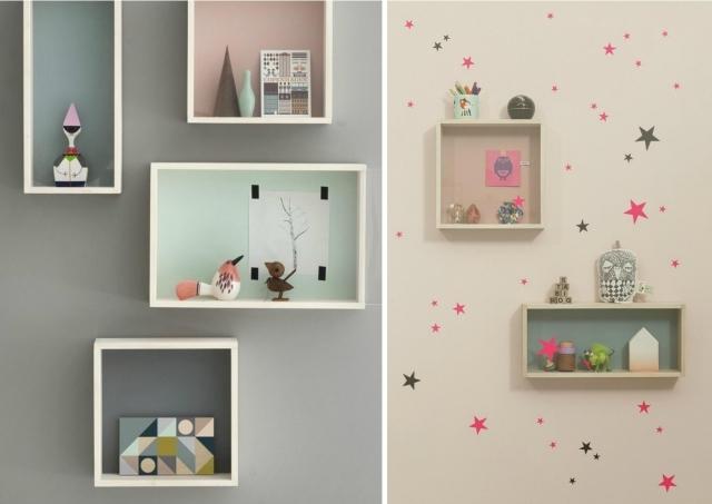 Camerette romantiche per bambine idee facili da imitare for Idee pareti cameretta neonato