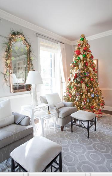Natale shabby chic in case da sogno foto delle decorazioni for Case inglesi foto