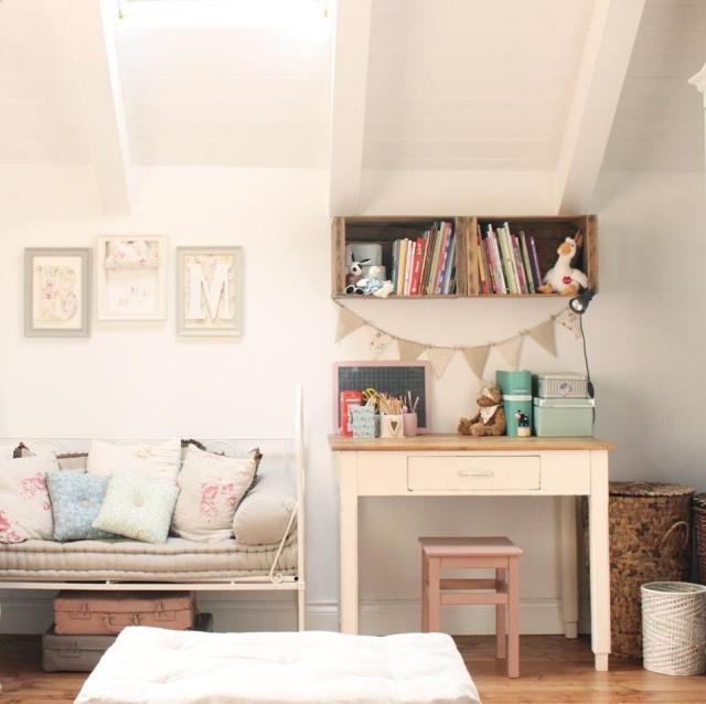 Camerette romantiche per bambine idee facili da imitare - Deco mobili camerette ...