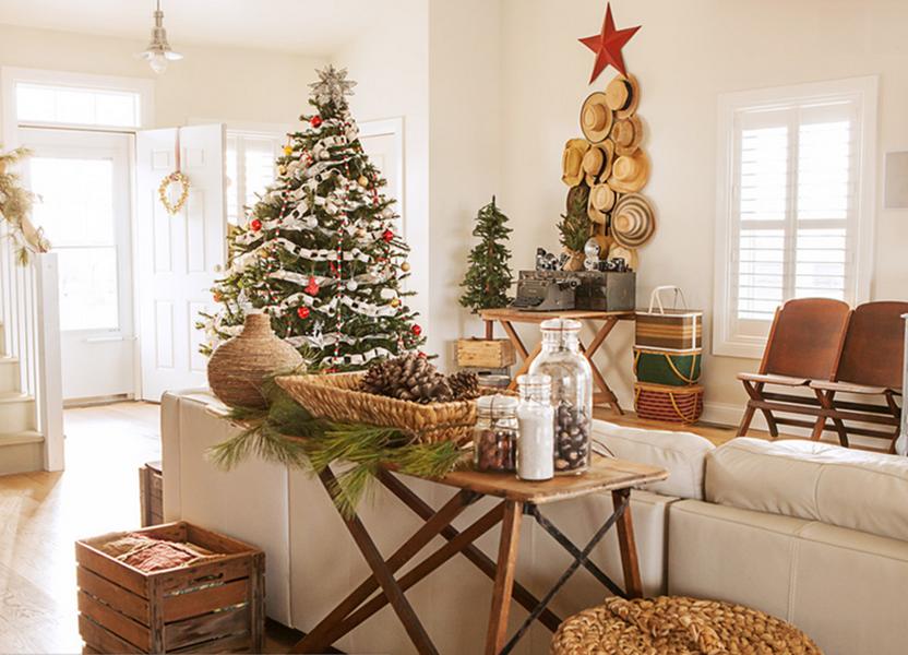 Shabby Chic Natale : Natale shabby chic in case da sogno foto delle decorazioni
