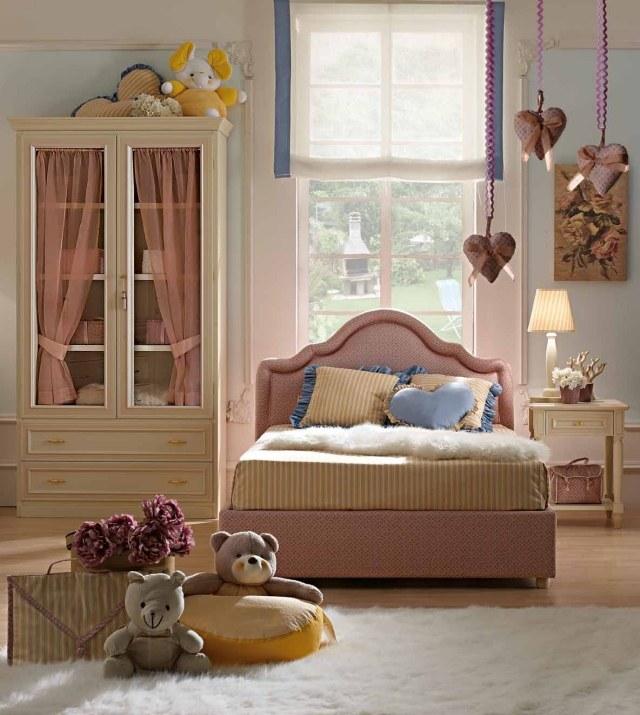 Camerette romantiche per bambine idee facili da imitare - Idee per pitturare una cameretta ...