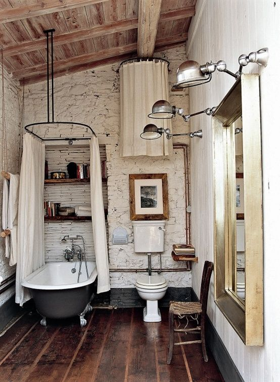 bagno rustico arredametno rustico : Bagno Rustico Shabby Arredamento Shabby Pictures to pin on Pinterest