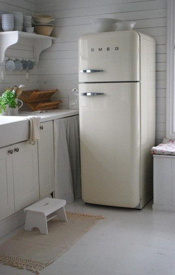 cucine shabby chic total white 25 modelli da sogno. Black Bedroom Furniture Sets. Home Design Ideas
