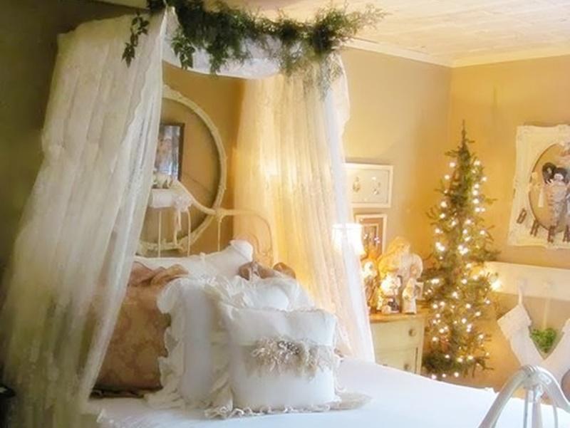 Idee Per Decorare La Camera : Idee per decorare le vostre camere da letto a natale