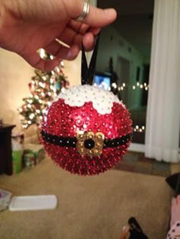 Styrofoam Christmas Balls