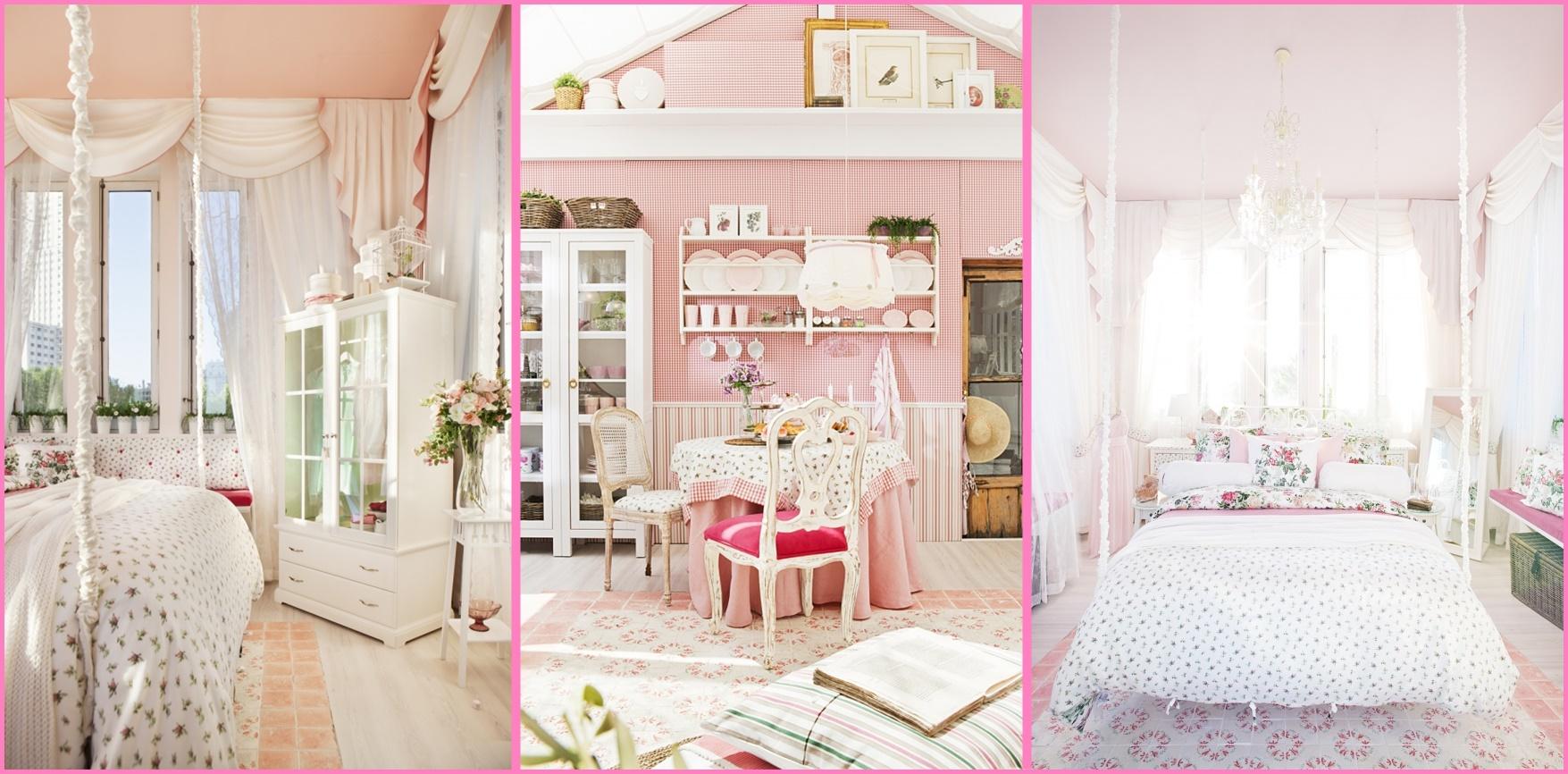 Arredi ikea in rosa e bianco ecco la casa da sogno shabby - Letto shabby ikea ...