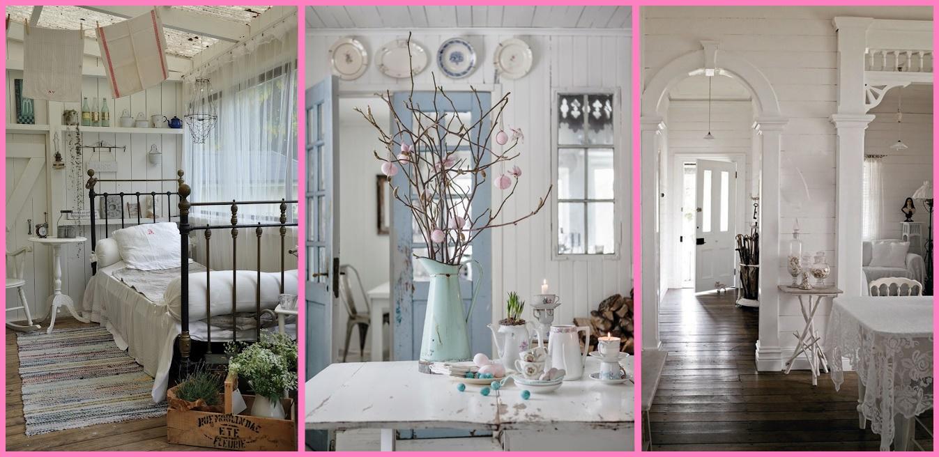 Come arredare una casa in stile shabby 10 cose che non for Casa shabby