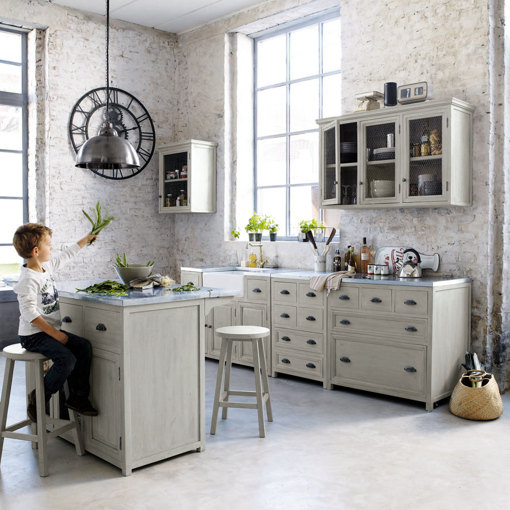 cucina maison du monde angolata arredamento shabby. Black Bedroom Furniture Sets. Home Design Ideas