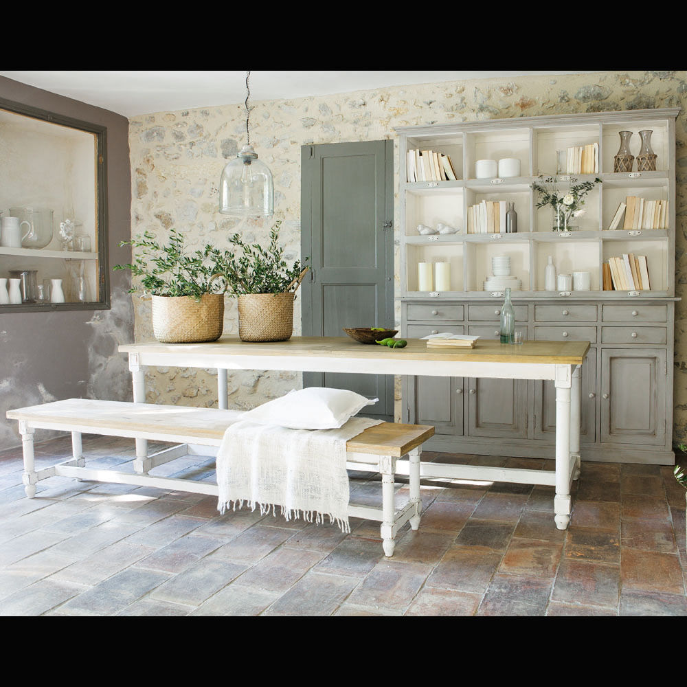 cucina maison du monde lampada a sospensione arredamento shabby. Black Bedroom Furniture Sets. Home Design Ideas