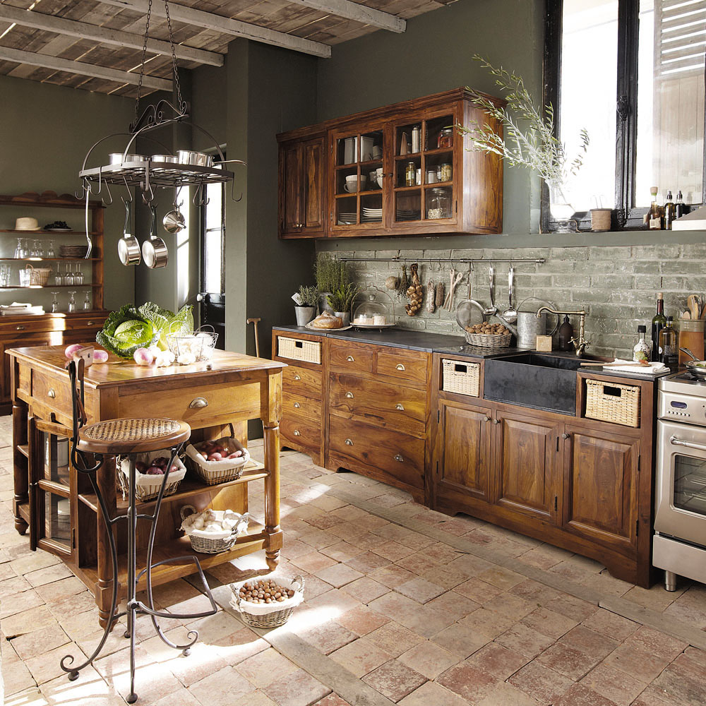 Cucine maison du monde accessori e mobili in stile shabby for Photo de cuisine campagnarde