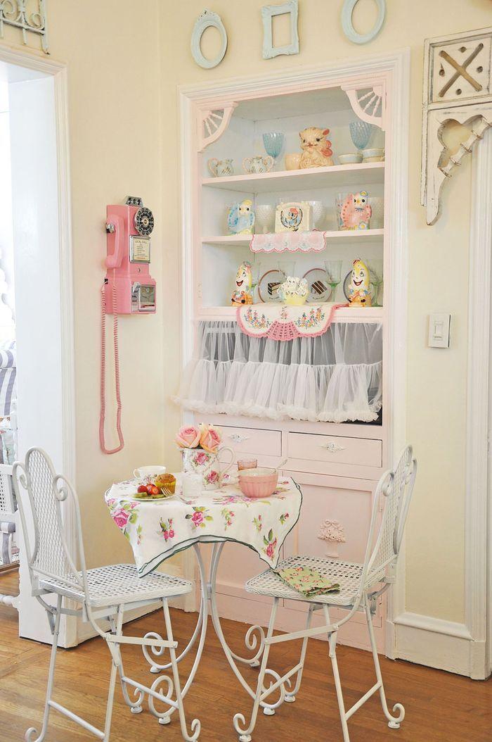 Cucine pastello e accessori per decorarla: lo shabby sposa il ...