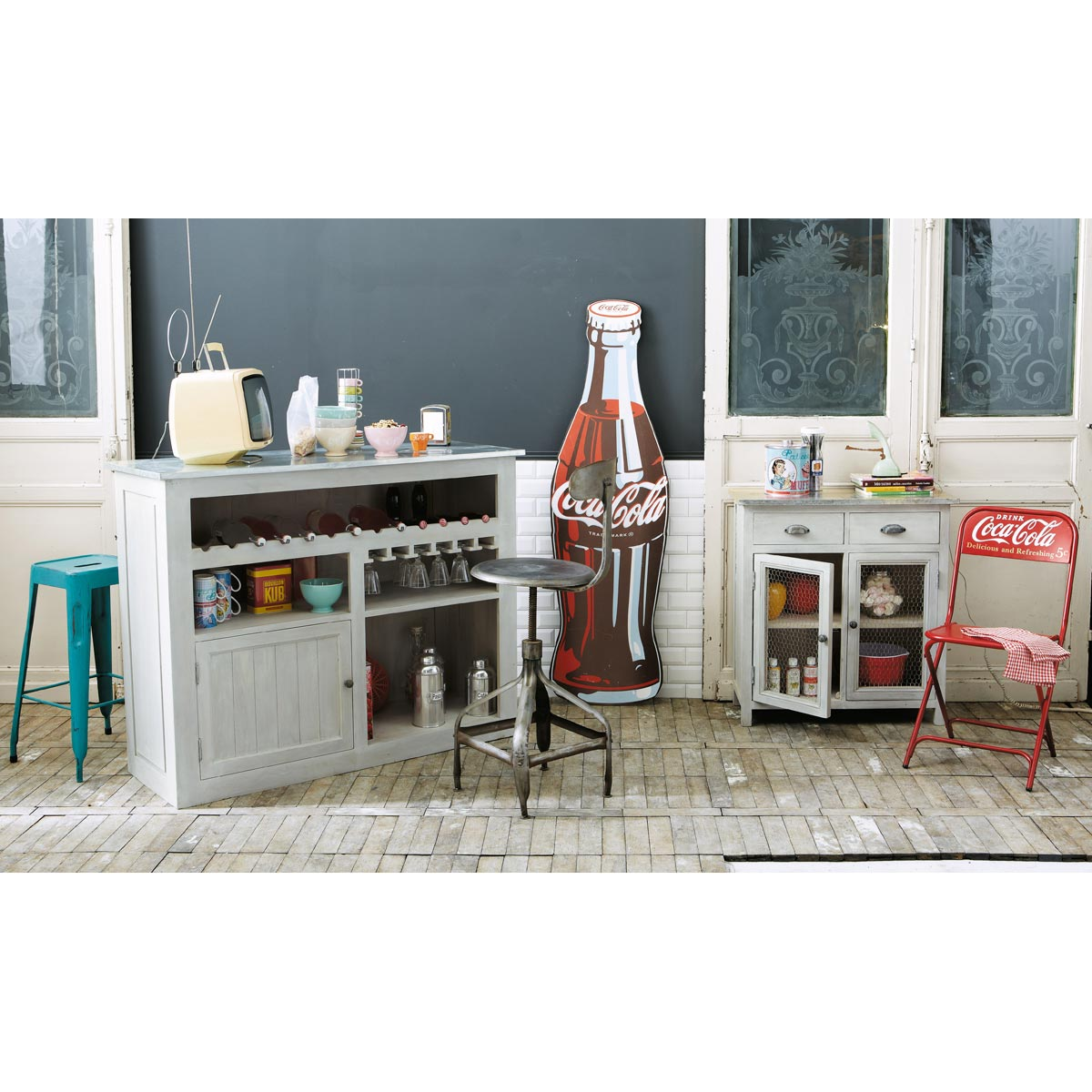 Mobile bar arredamento shabby - Mueble para casa ...