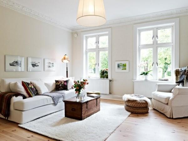 Come rendere indimenticabilmente shabby il tuo soggiorno