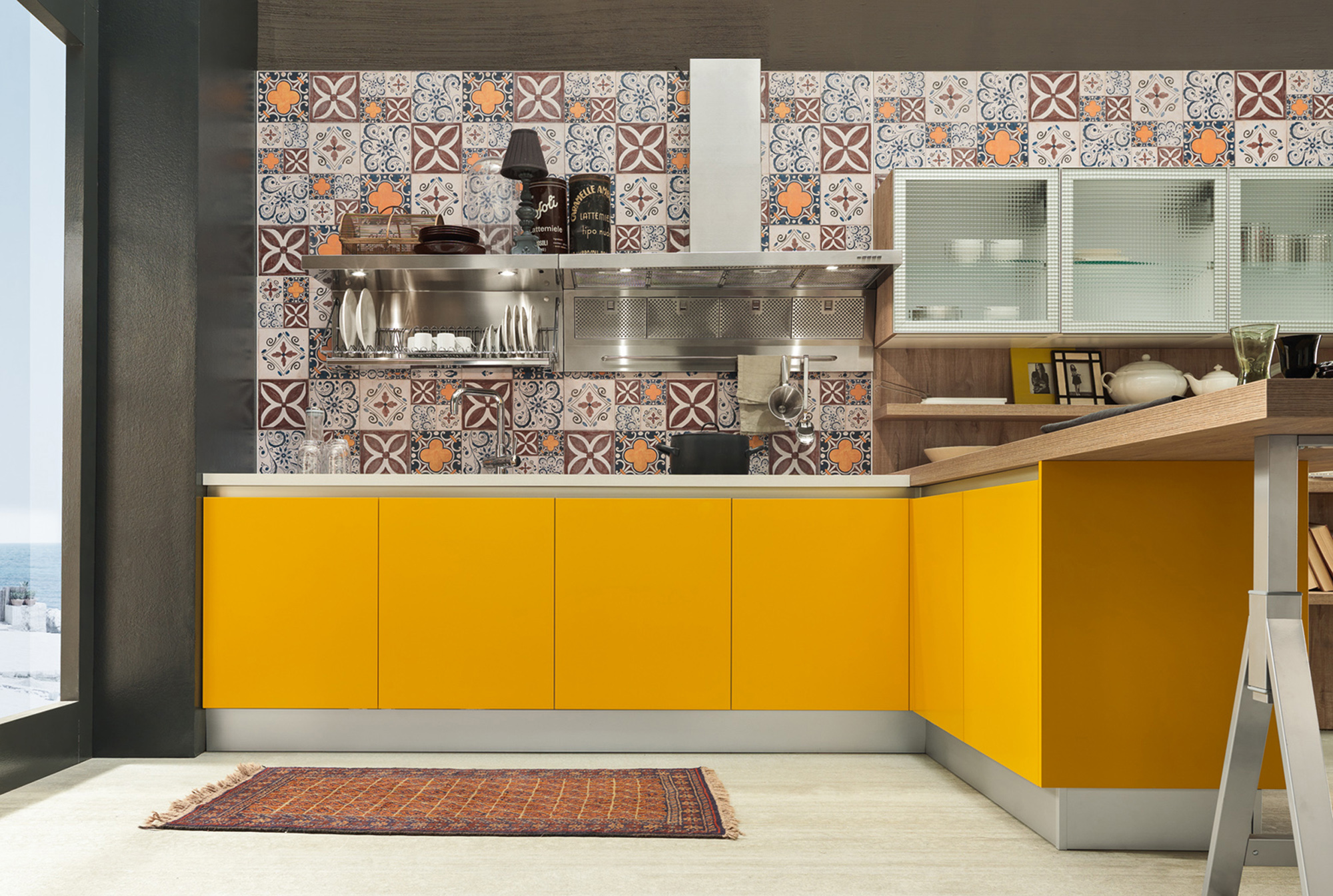 Le cucine in stile provenzale e industrial chic febal 2015 - Cucine shabby chic prezzi ...