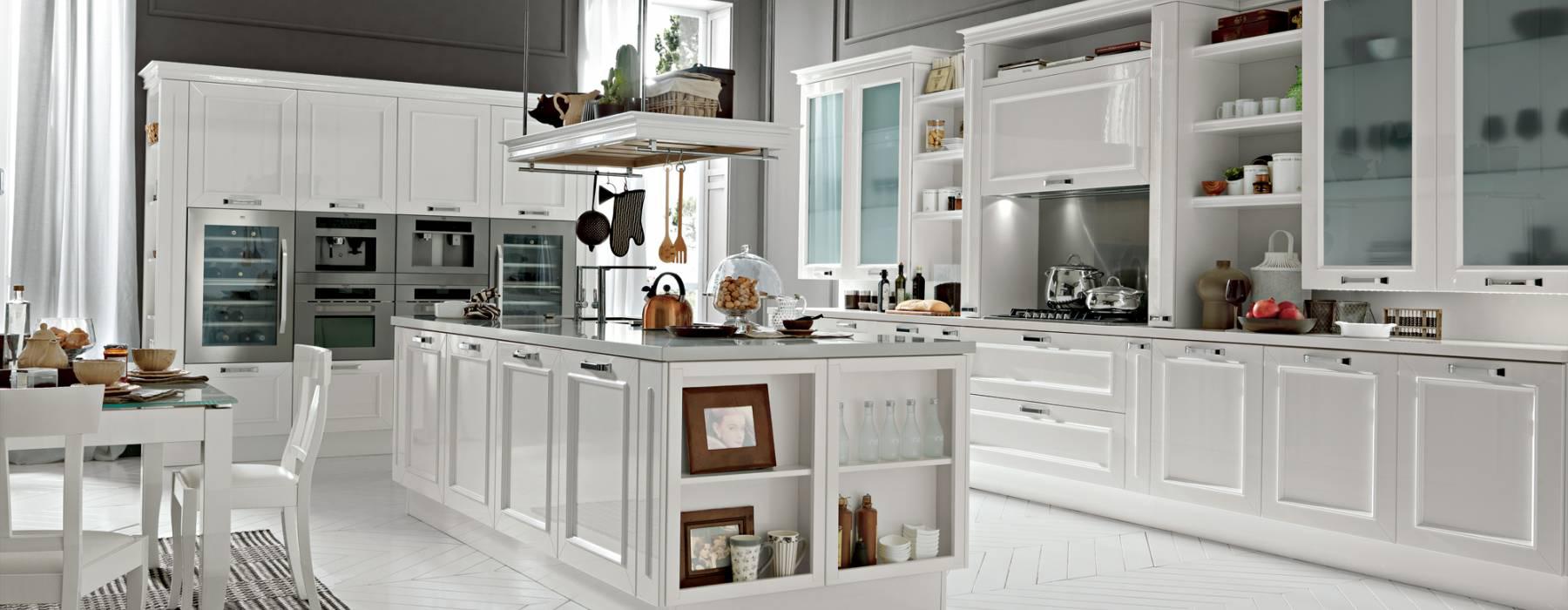 Le cucine in stile provenzale e industrial chic febal 2015 - Febal cucine classiche ...