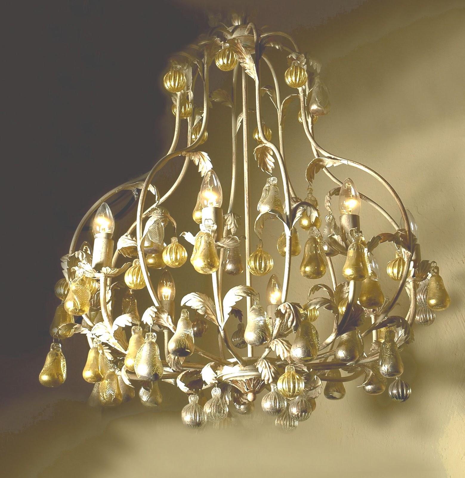 Come illuminate la tua casa in stile shabby - Lampadari per la casa ...