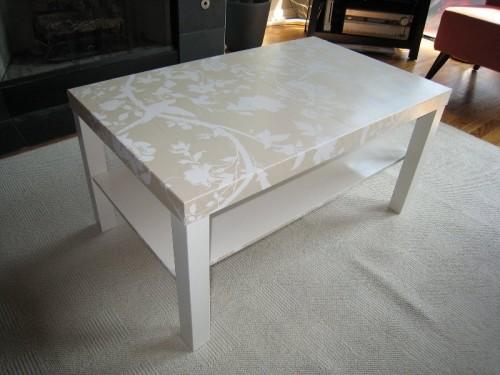 Come trasformare mobili ikea in stile shabby chic ecco for Tavolino ikea lack