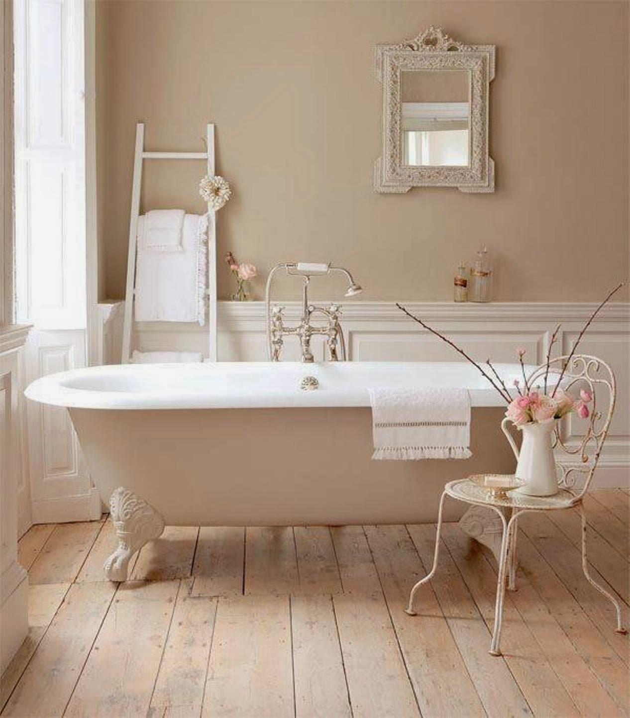 vasca da bagno con scala - Arredamento Shabby