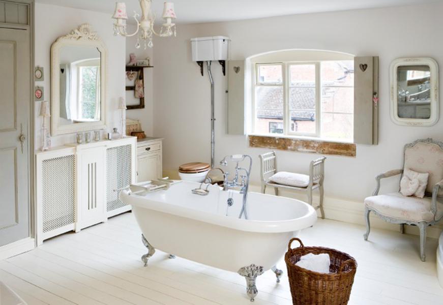 Tutti i segreti per realizzare un bagno shabby chic - Bagno stile shabby ...