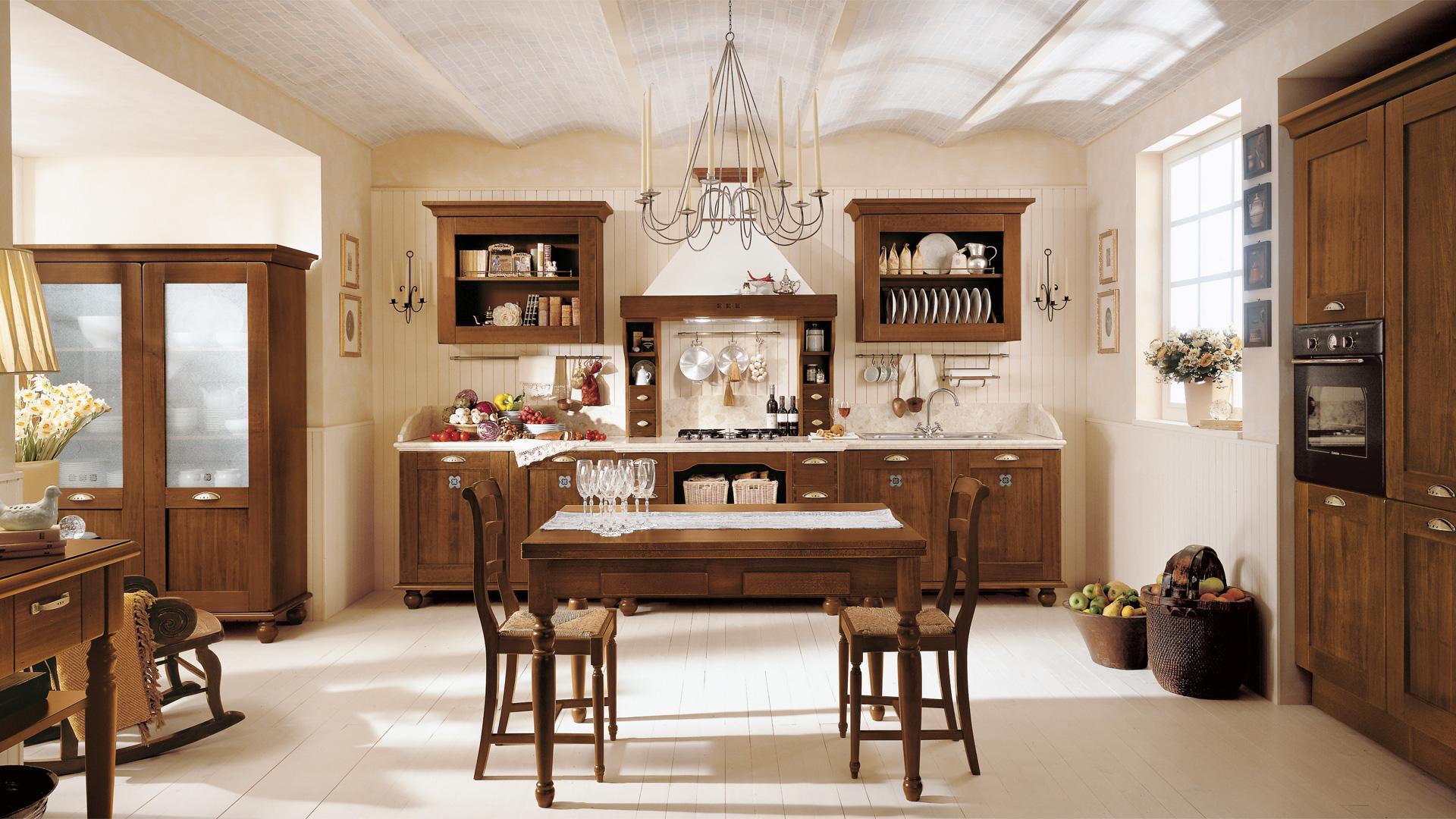 Preferenza Le cucine rustiche di Mondo Convenienza e Lube BJ95