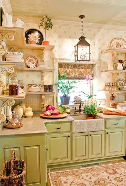 Segreti per arredare la tua cucina in stile shabby - Lanterne arredo casa ...
