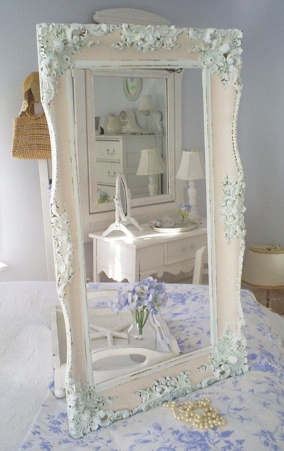 Specchi in stile shabby chic foto - Specchio ovale shabby chic ...