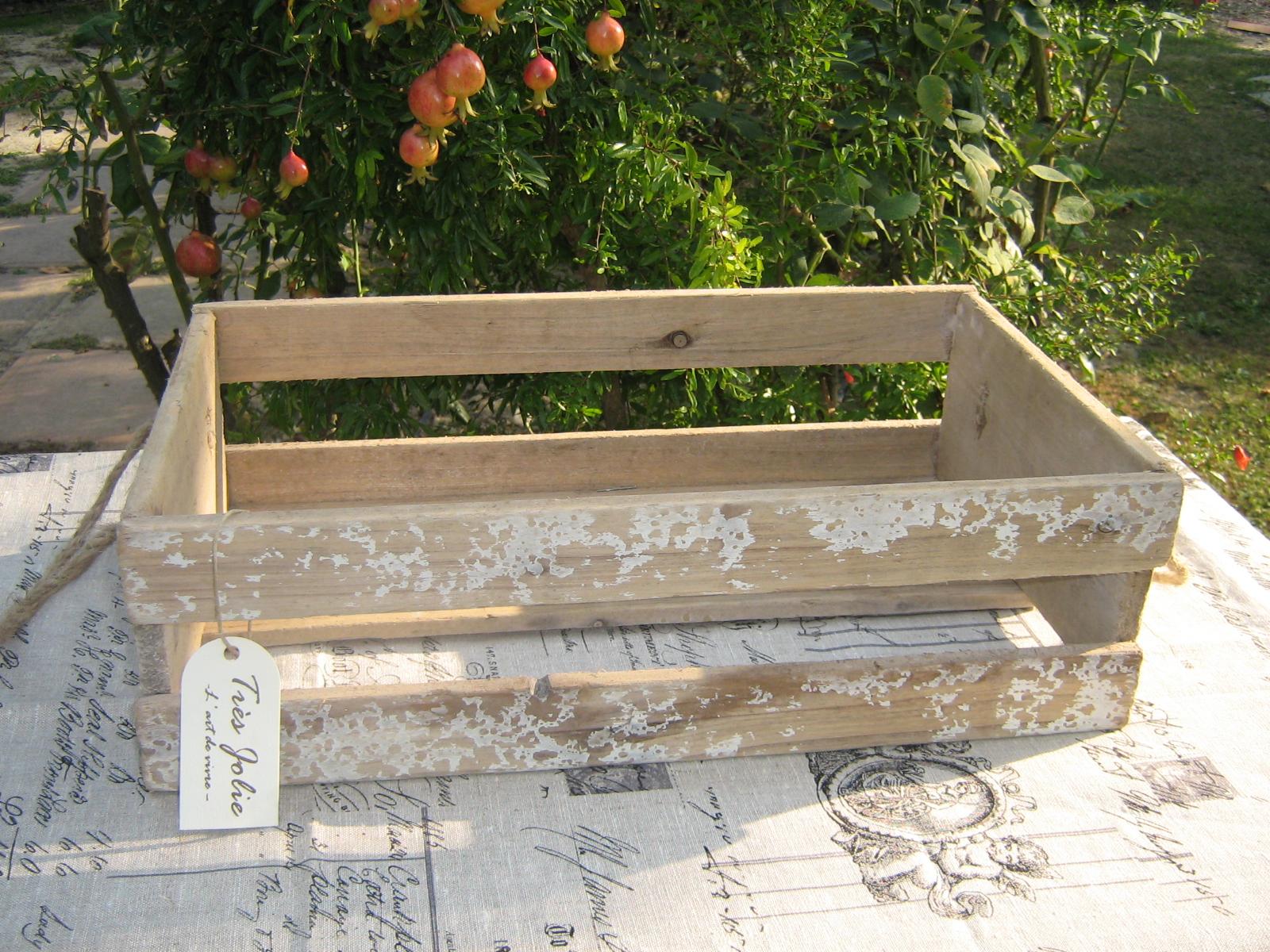 Come trasformare una cassetta di legno in stile shabby: video