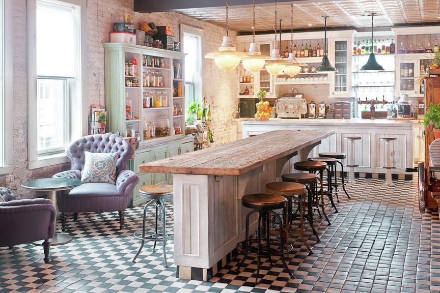 Le cucine country chic tra stile shabby e rustico: foto