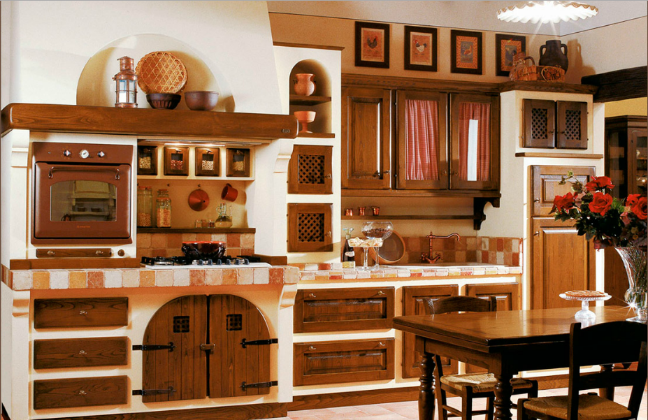 Cucine Rustiche Con Isola. Cool Le Pi Belle Cucine Con Isola Di ...