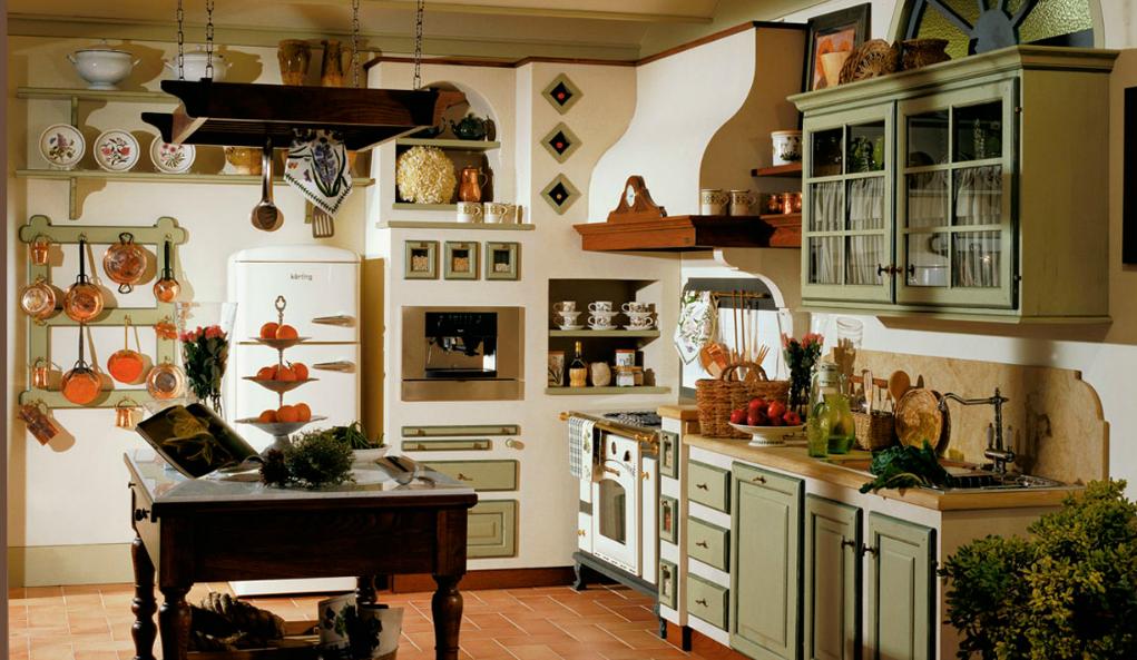 Le cucine dei Mastri country chic (FOTO)