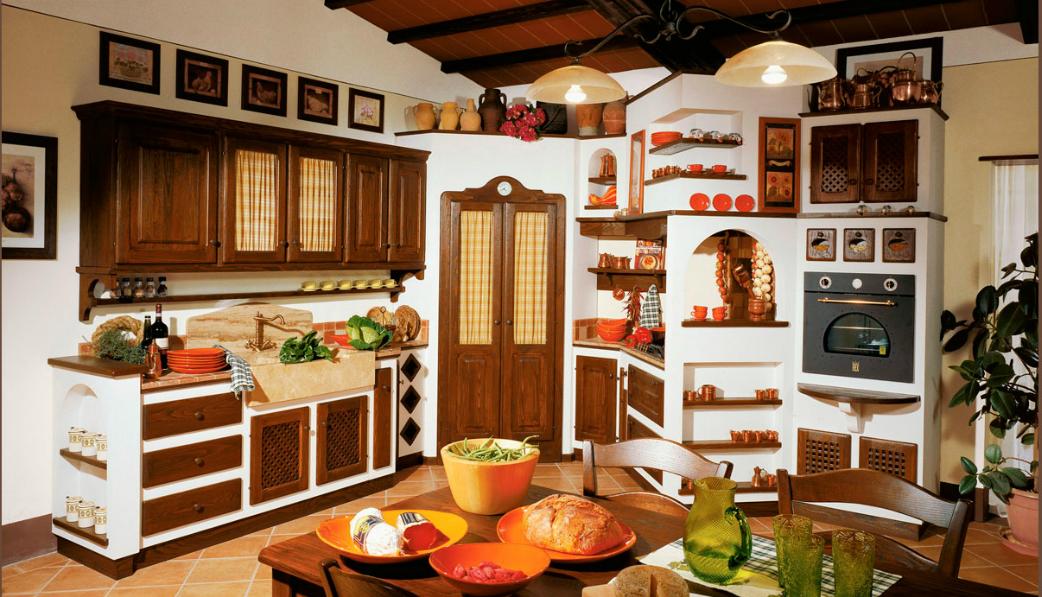Le cucine dei mastri country chic foto for Programma per comporre cucine