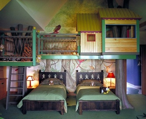 Come decorare la stanza dei bimbi in stile shabby for Decorare pareti stanza bambino