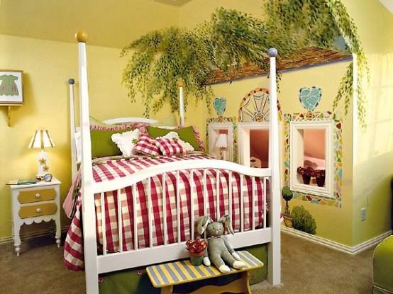 Come decorare la stanza dei bimbi in stile shabby for Idee per conservare la stanza del sud